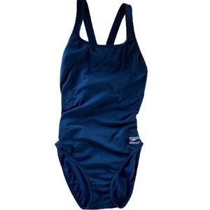 Speedo Endurance Blue Bathing Suit 10/36